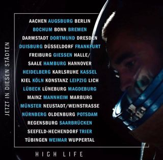 HIGH LIFE cinema release in Germany